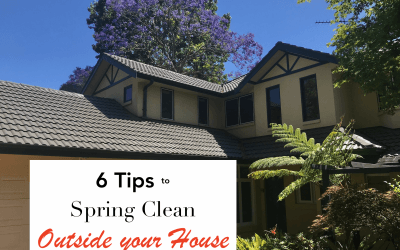 Spring Cleaning Tips – Outside the House