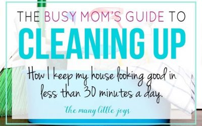 7 Cleaning Tips for Busy Mums