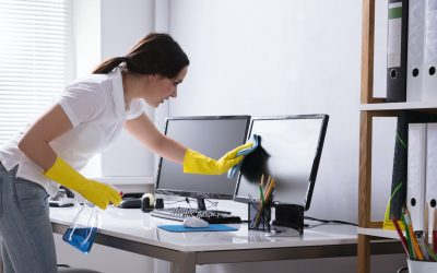 COVID-19 Office Cleaning – Keeping Your Staff afe