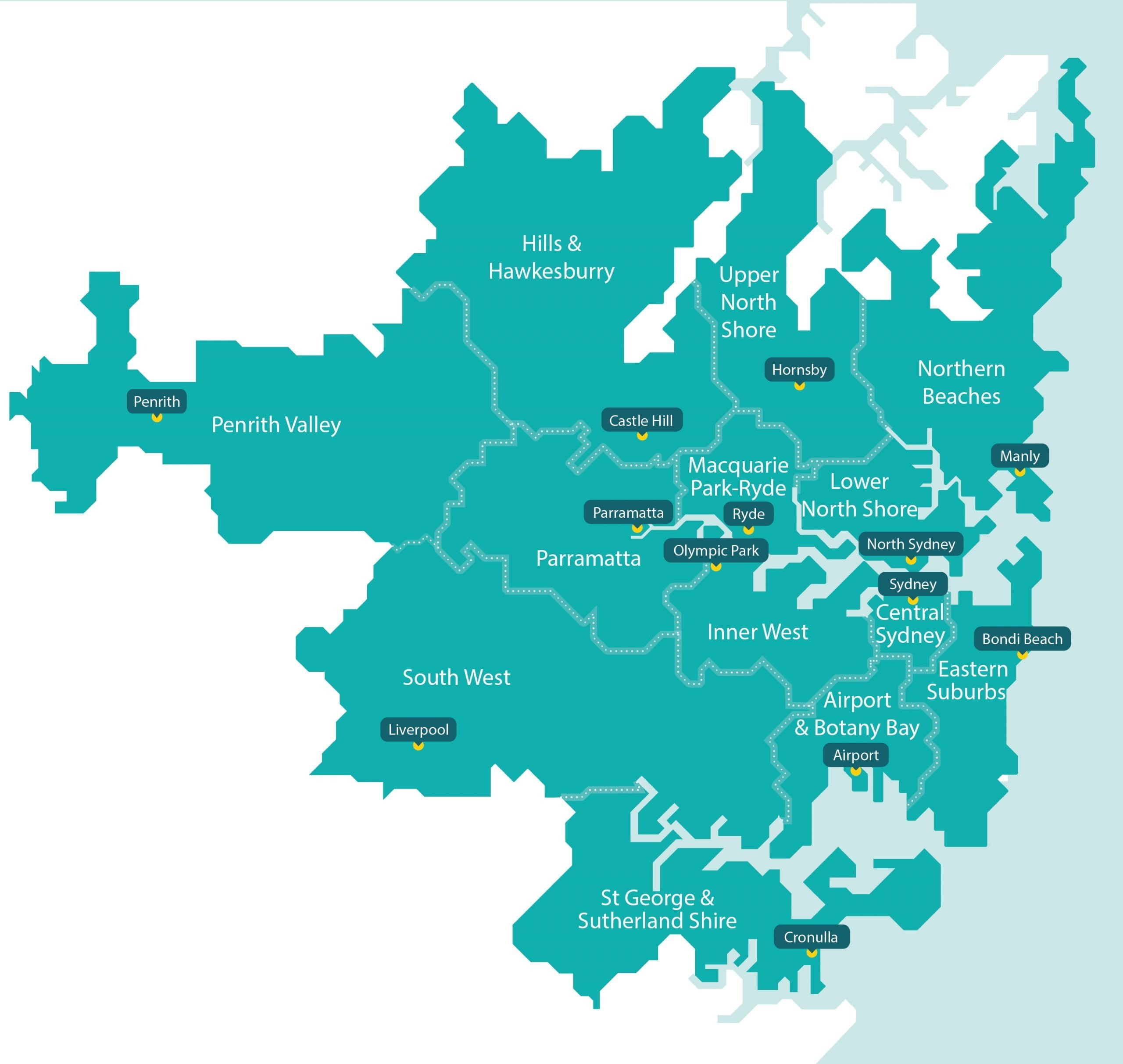 NDIS Cleaning Sydney Service Areas