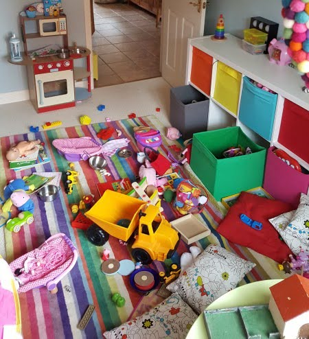 keep toys tidy
