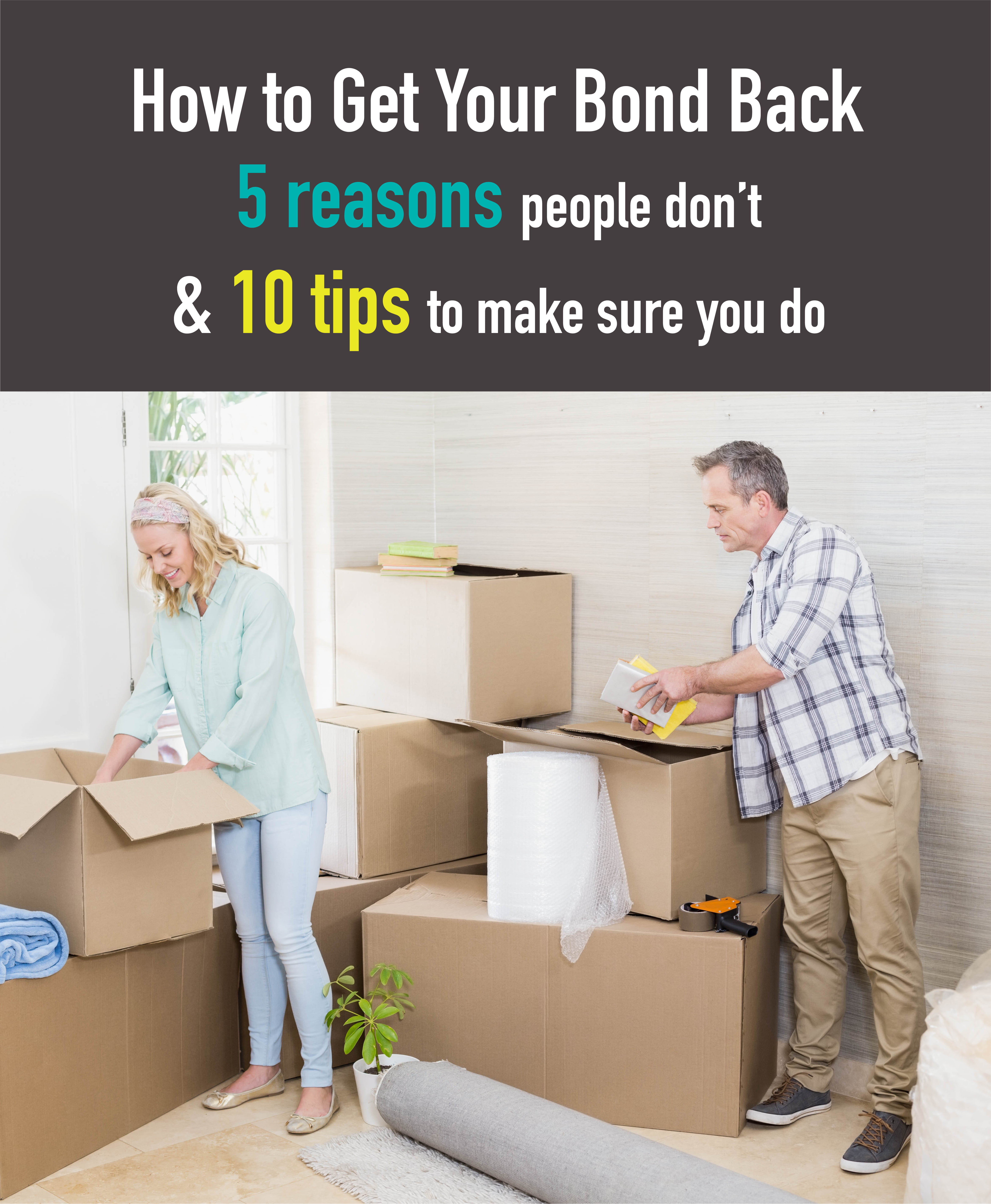how to get your bond back