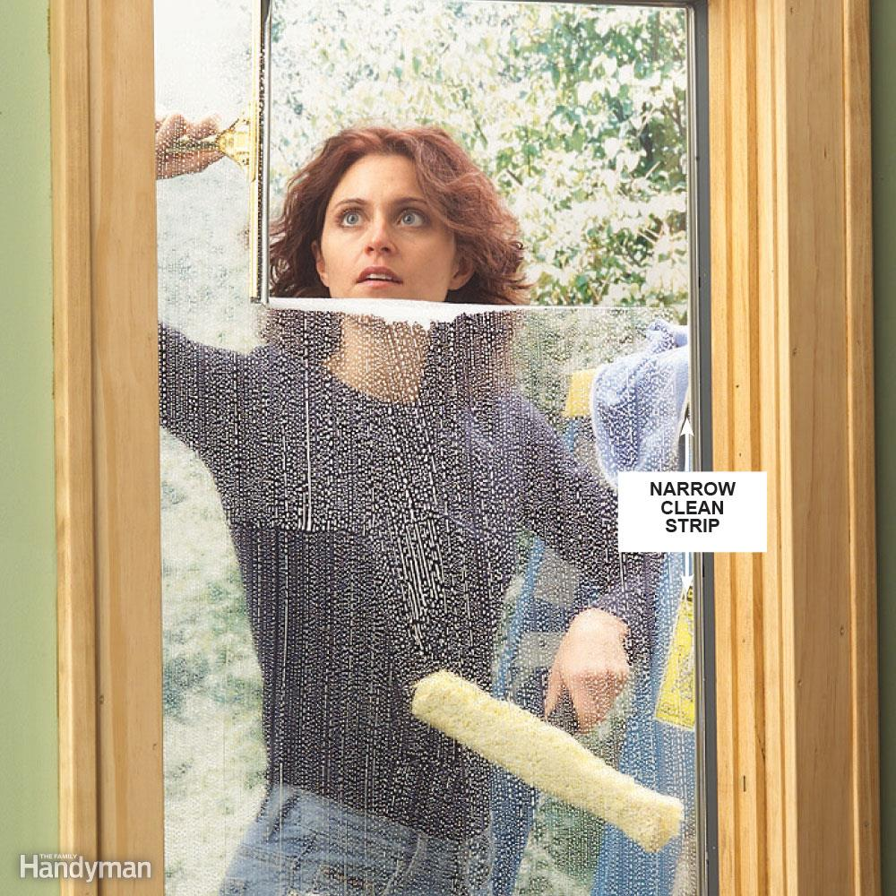 clean windows before selling your house