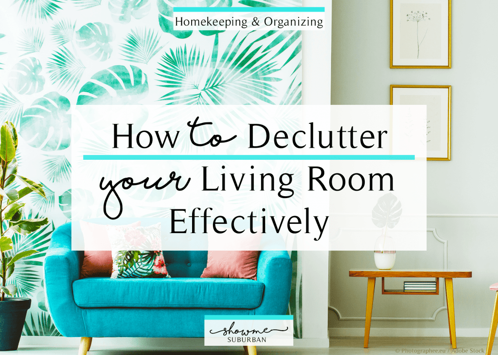 Cleaning Tips to Declutter Your Living Room