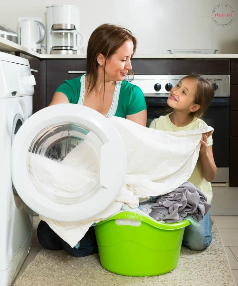 Get the kids involved in cleaning